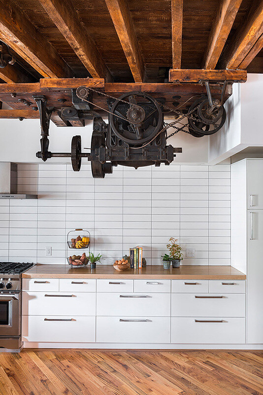 kitchen interior 1880 pickle factory 1880s warehouse turned live work studio