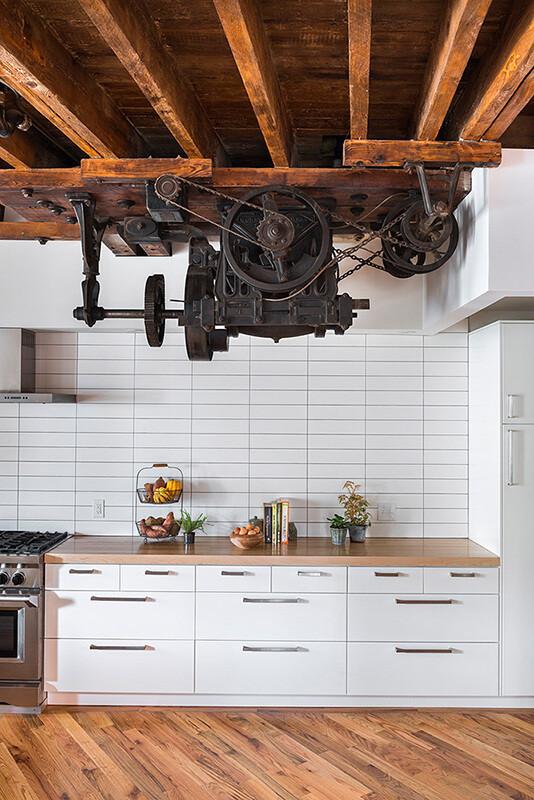 Kitchen design - 1880's warehouse turned live-work studio