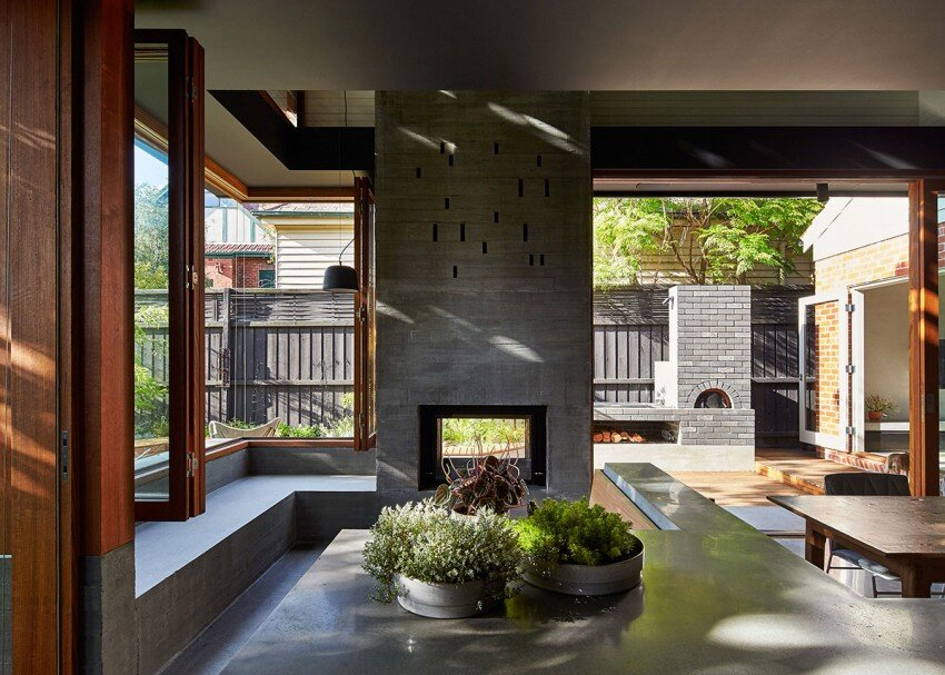 St kilda californian bungalow by make architecture for Cottage style homes melbourne