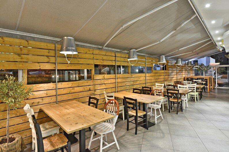 Modern tavern by M.O.B Interior Architects