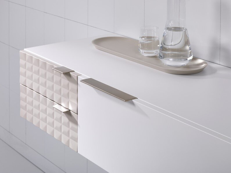 Modular furniture for bathroom space Ingrid collection