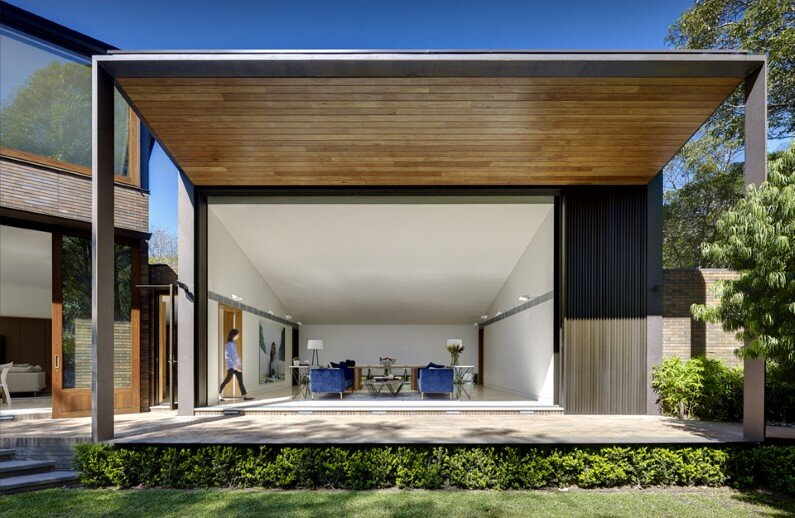 New family house by Tzannes Associates, Sydney