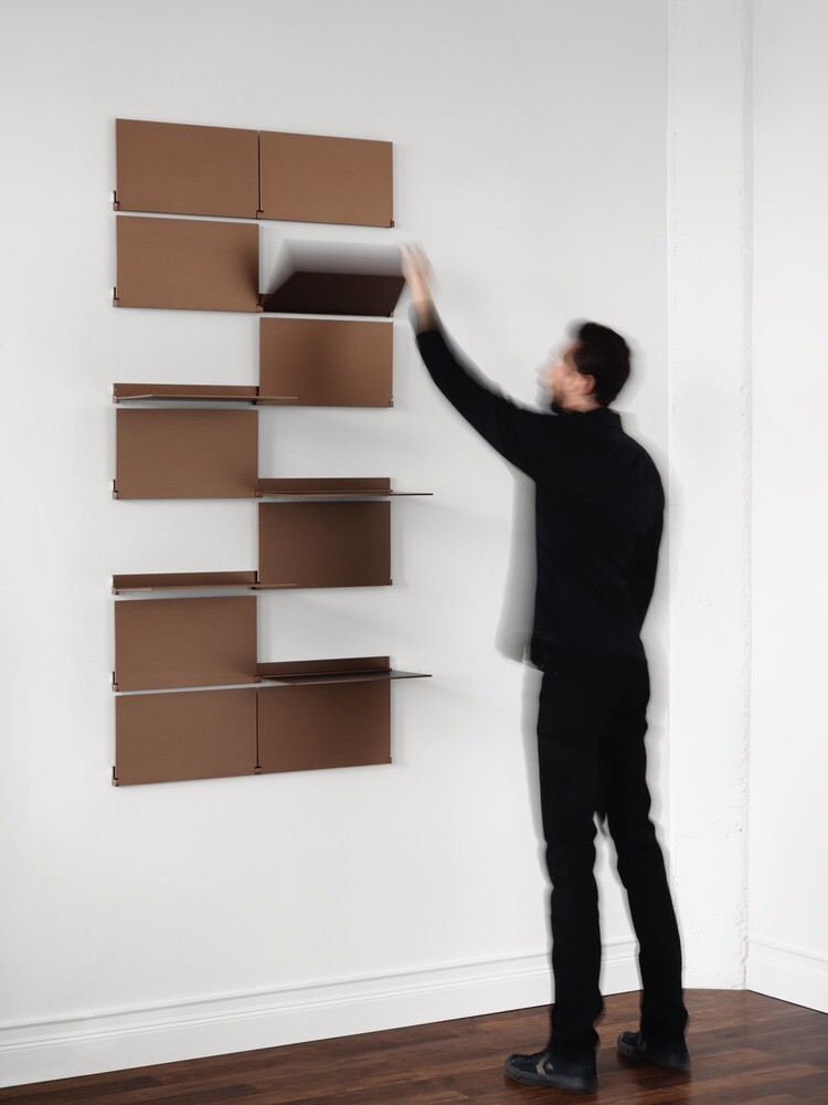 Shelving Design by Lake and Wells