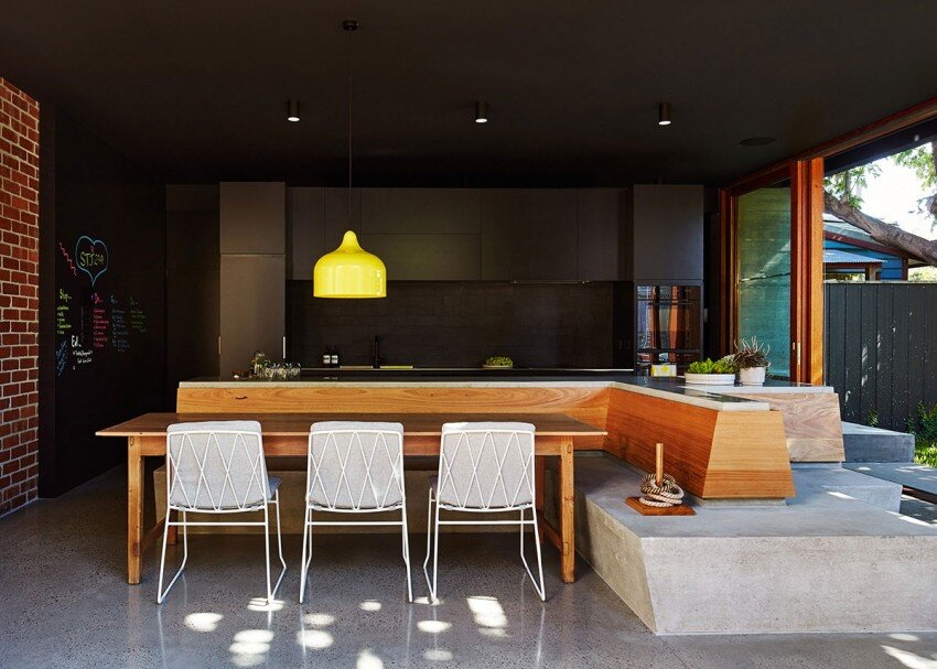 St Kilda house - kitchen design
