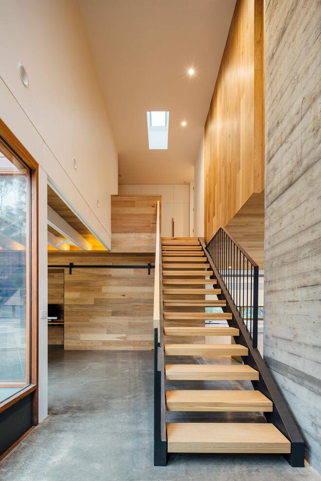 Stairs Invermay Residence - Moloney Architects