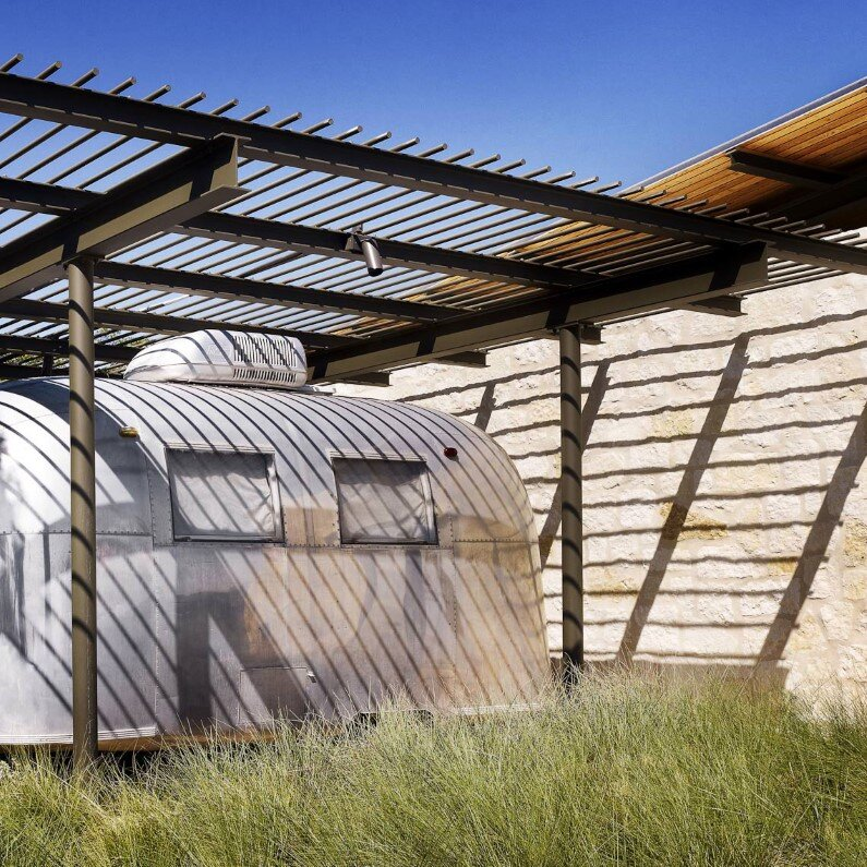 Story Pole House by Lake Flato Architects in Center Point