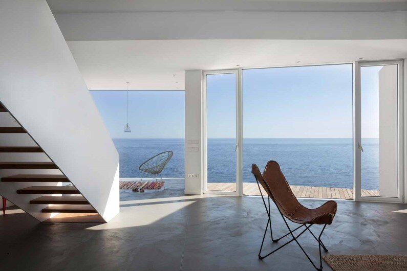 Sunflower House interiors - Spanish coast