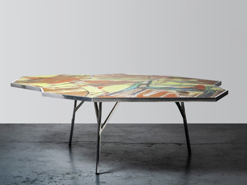 TABLE -  street art and furniture design