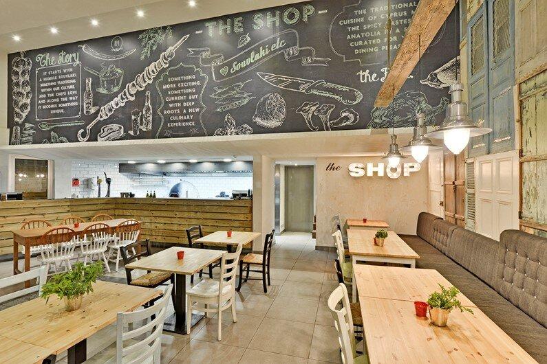 The Shop Souflaki Etc by M.O.B Interior Architects , Nicosia