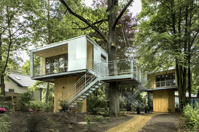 Treehouse Hotel in Berlin  by Baumraum