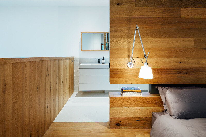 Wood finishes - Invermay House