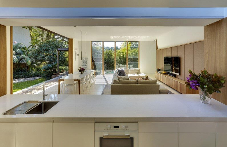 Woollahra Residence - contemporary house by Tzannes Associates, Sydney