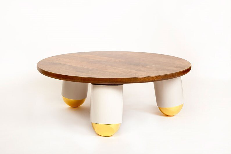 ball-nose-coffee-table - Modern heirloom furniture by Evan Z. Crane