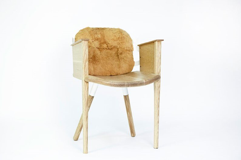 big-smile-chair- Modern heirloom furniture by Evan Z. Crane
