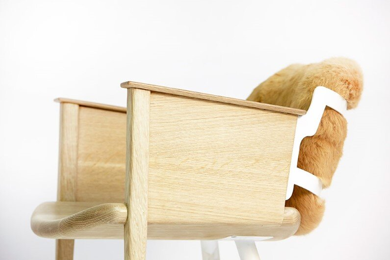 big-smile-chair - heirloom furniture by Evan Z. Crane