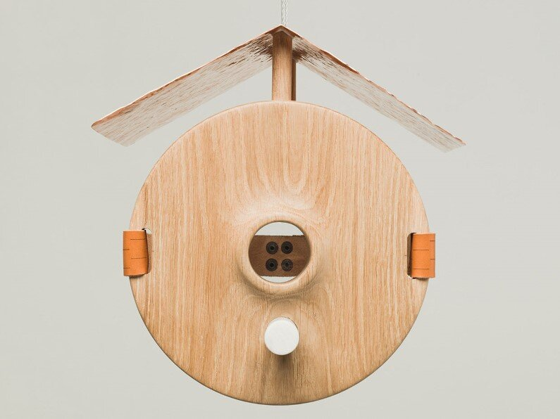 birdhouse for rich birds designed in 2015 by Finnish designer Nikolo Kerimov