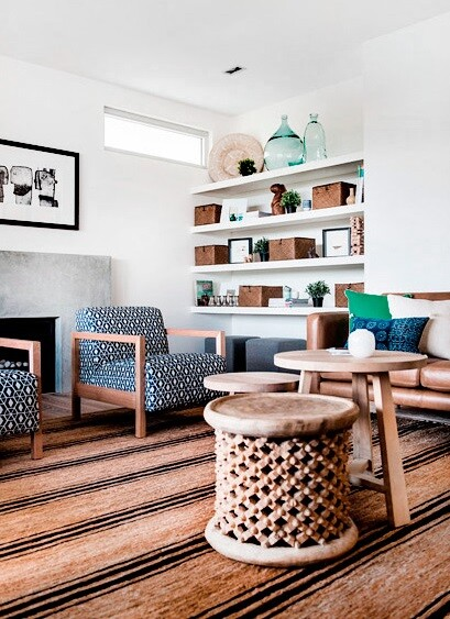 coastal style design in Cottesloe Beach, Australia