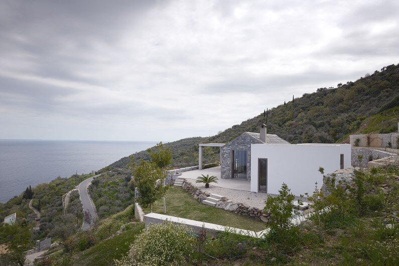 contemporary architecture in Tyros