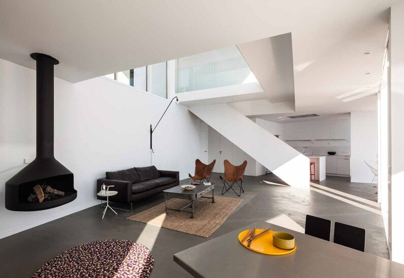 contemporary design Sunflower House