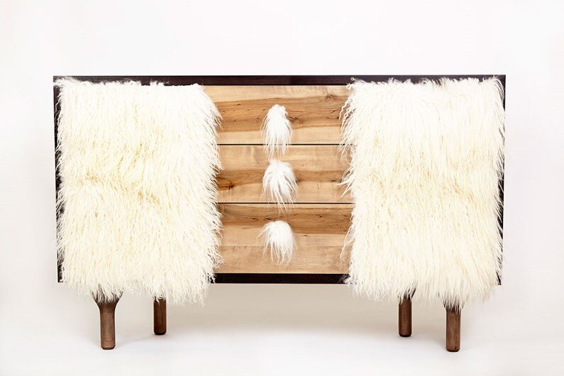 creature-credenza - Modern heirloom furniture by Evan Z. Crane