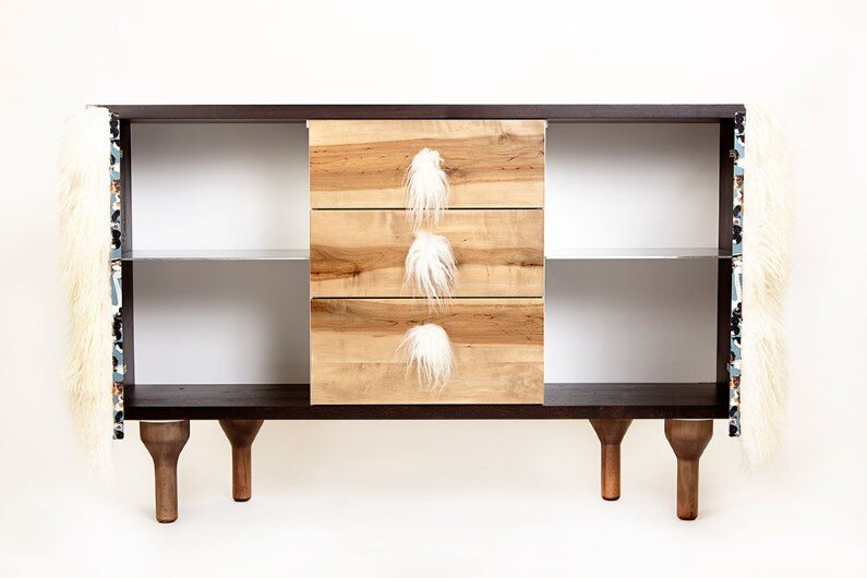 creature-credenza Modern heirloom furniture