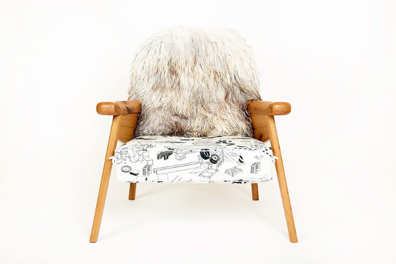 fuzzy-captain - Modern heirloom furniture by Evan Z. Crane