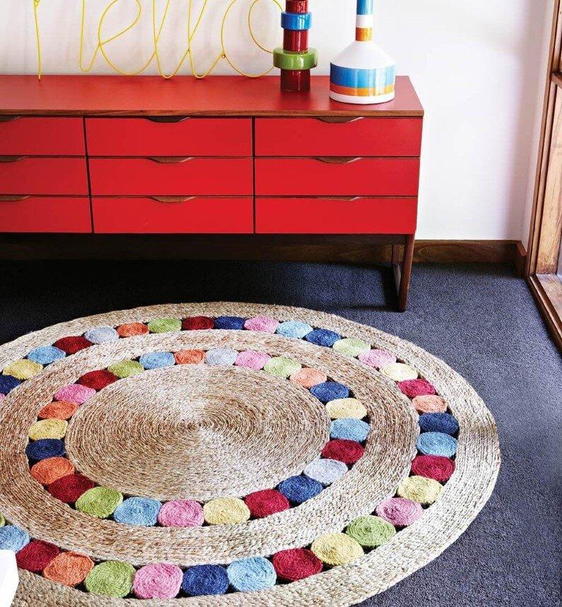 handmade rugs made from natural fibers
