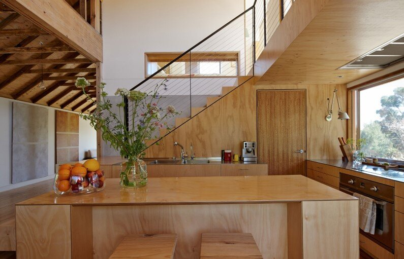 heritage-list building converted into a family house by Andrew Simpson Architects