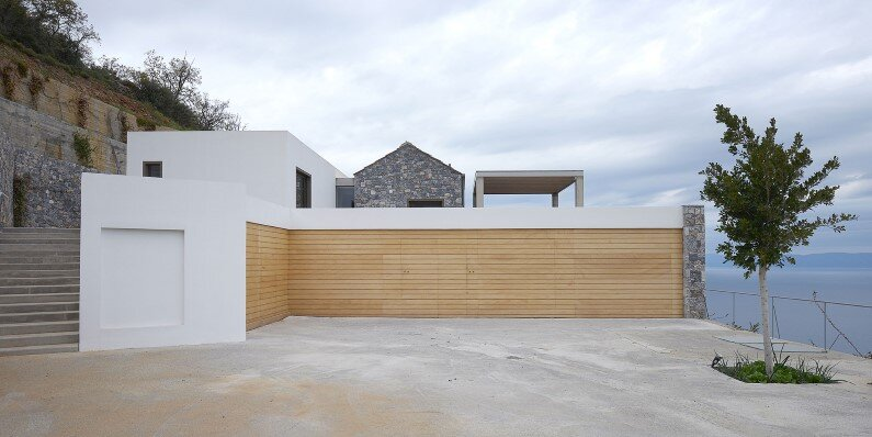 project by Studio 2Pi Architecture in collaboration with fellow architect Valia Foufa