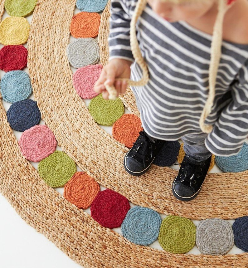Handmade rugs for children's rooms – Armadillo