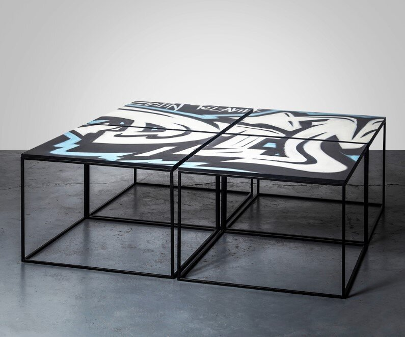 street art and furniture design - BY ARIEL ZUCKERMAN STUDIO