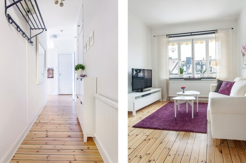 28 sqm studio in Stockholm with fresh interior design  (8)