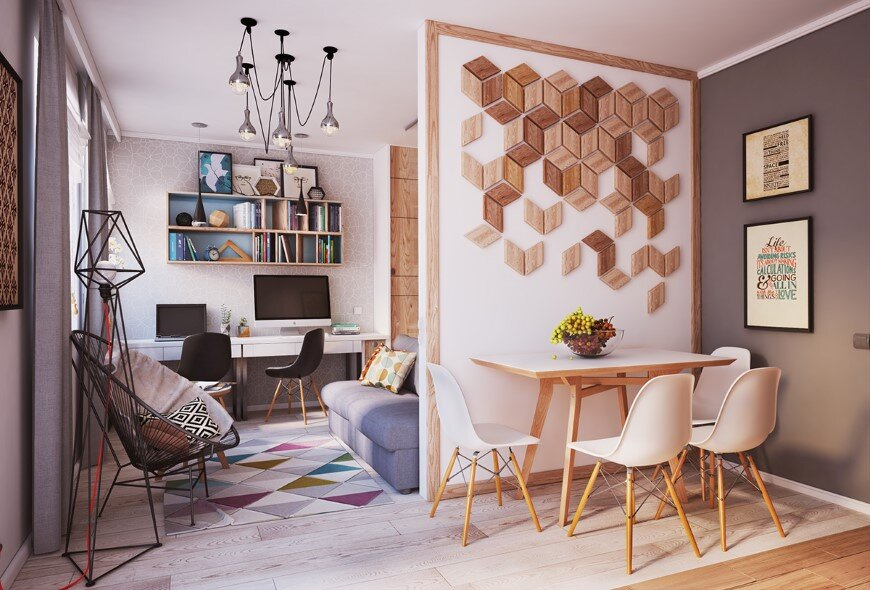 Apartment Verbi with modern and unique design for a young family