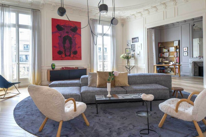 Appartement Trocadero in Paris - Rodolphe Parente Architecture Design (1)