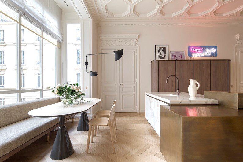 Appartement Trocadero in Paris -  Rodolphe Parente Architecture Design (3)