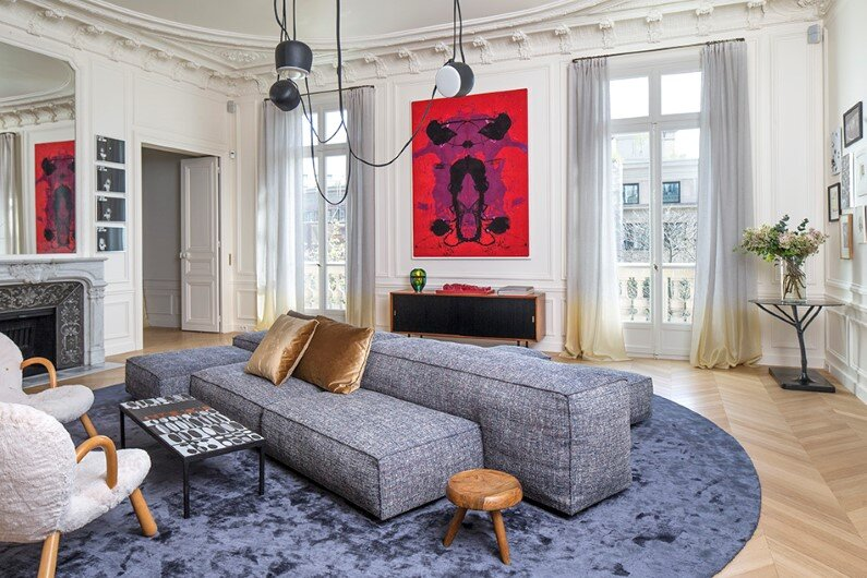 Appartement Trocadero in Paris –  Rodolphe Parente