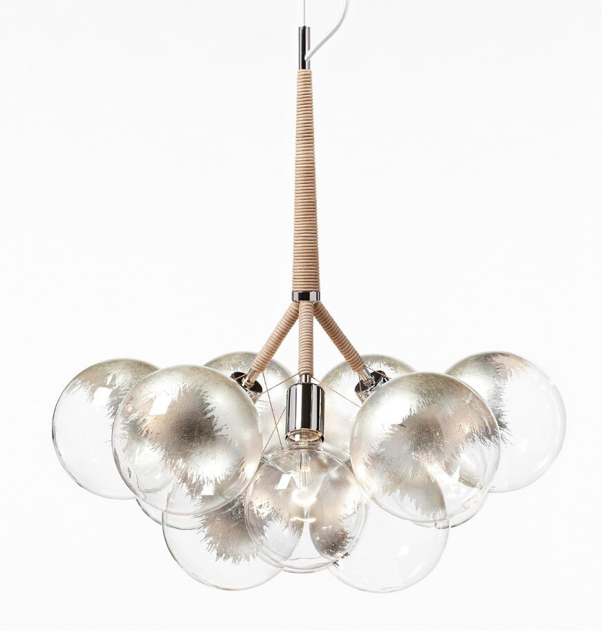 Bubble Chandelier - a collection of distinctive lights developed by Pelle Designs (11)