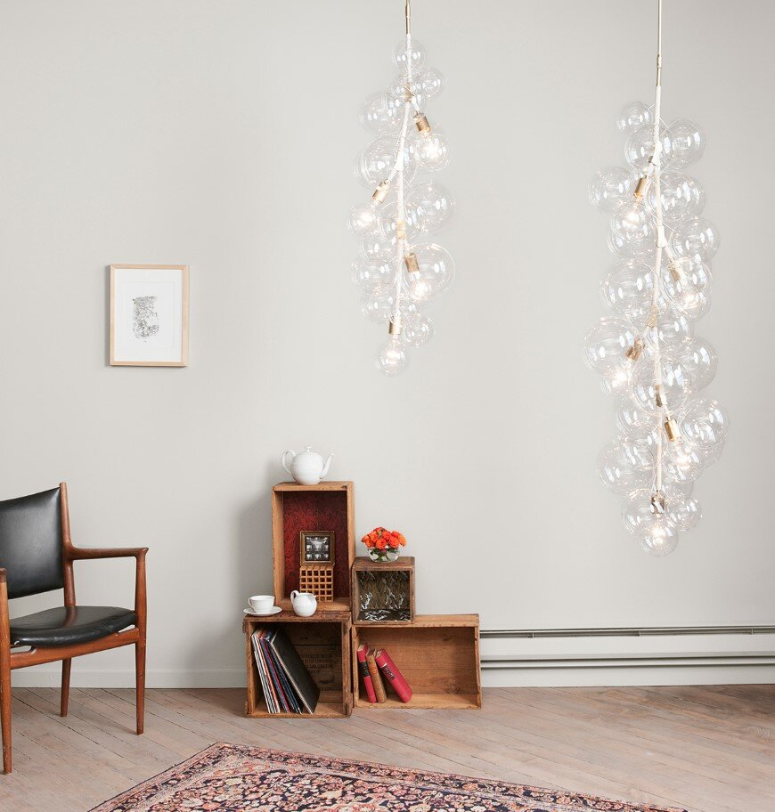 Bubble Chandeliers - a collection of distinctive lights developed by Pelle Designs (3)