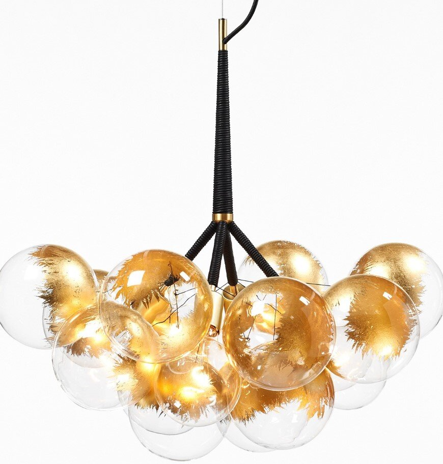 Bubble Chandeliers - a collection of distinctive lights developed by Pelle Designs (7)
