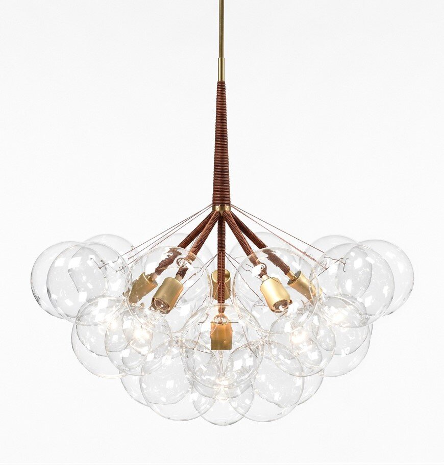 Bubble Chandelier - a collection of distinctive lights developed by Pelle Designs (9)