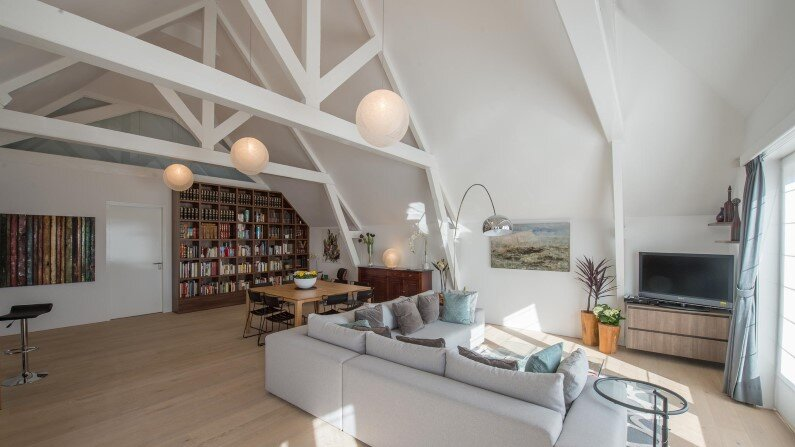 Casa F: transforming a museum into a house