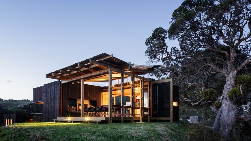 Castle Rock - beach houses with a fabulous openness (10)