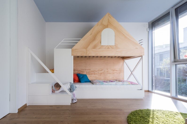 Children room designed by Rules Architects with low budget (3)