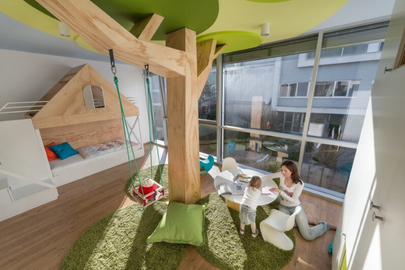 Kids room designed by Rules Architects with low budget