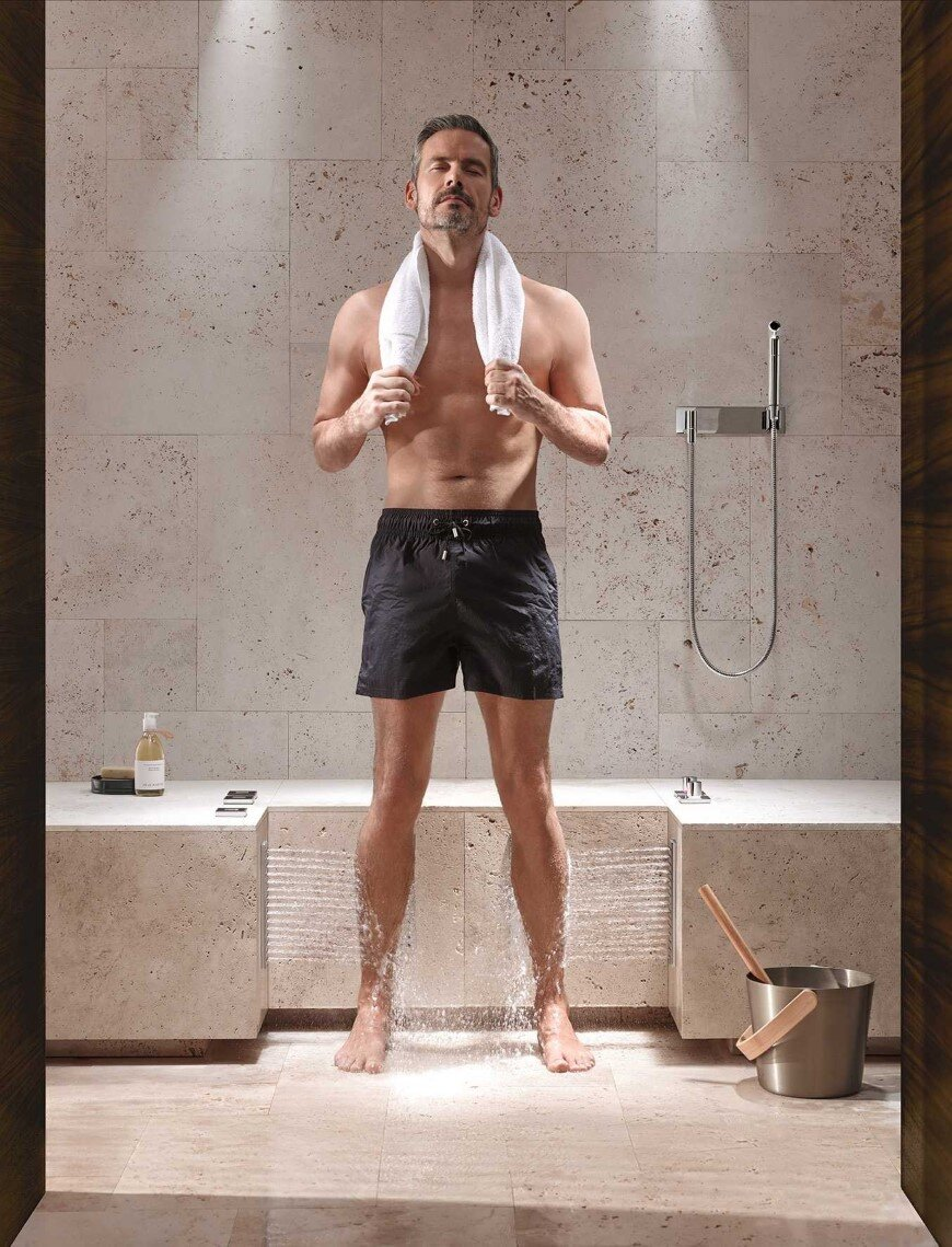 Comfort Shower from Dornbracht lets you shower while sitting down (4)