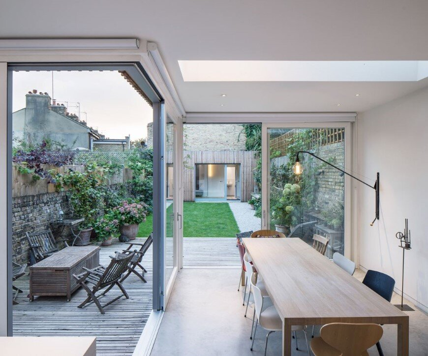Complete refurbishment and extension of a Victorian semi-detached house