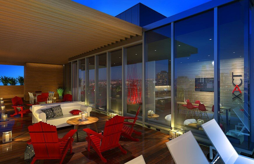 Condos XACT with a superb exterior rooftop terrace (1)