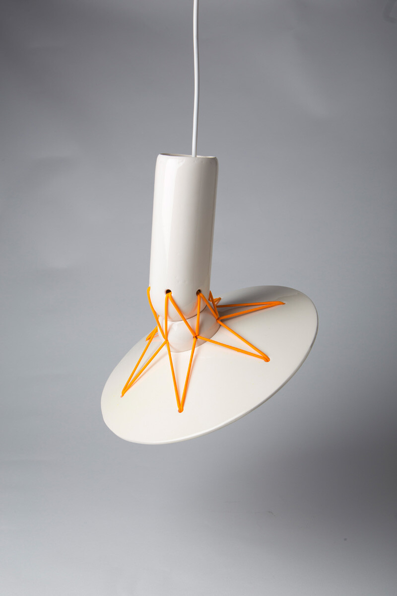 Elastic Lights - collection of articulated ceramic lamps (7)