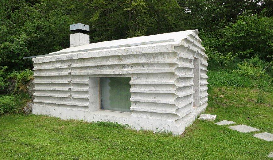 Fascinating concrete cabin in the Swiss Alps by German architecture studio Nickisch Sano Walder Architekten (2)