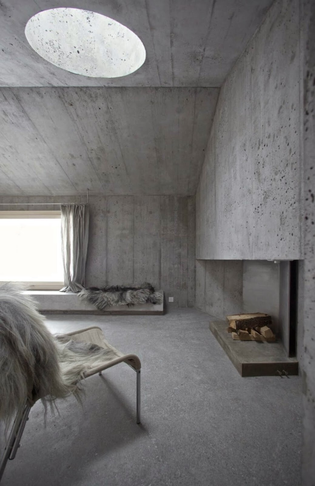 Fascinating concrete cabin in the Swiss Alps by German architecture studio Nickisch Sano Walder Architekten (4)